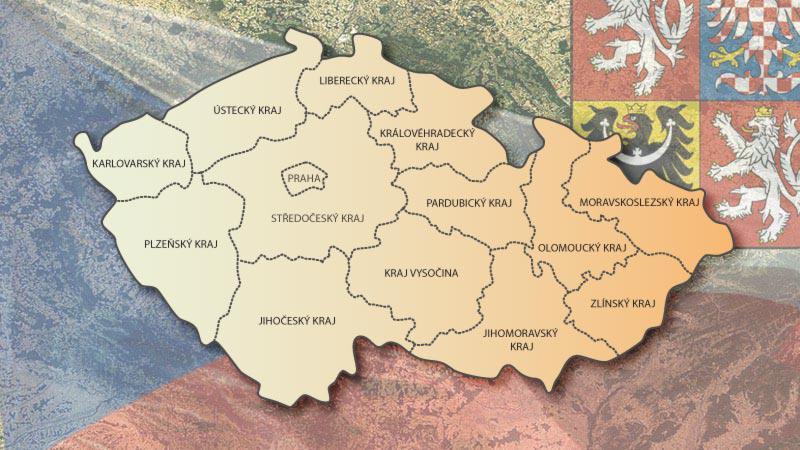 Územní rozdělení Česka
