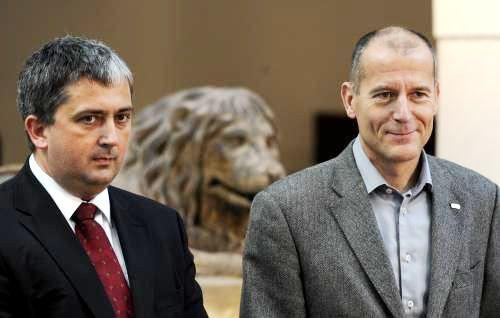Petr Hulínský a Zdeněk Tůma