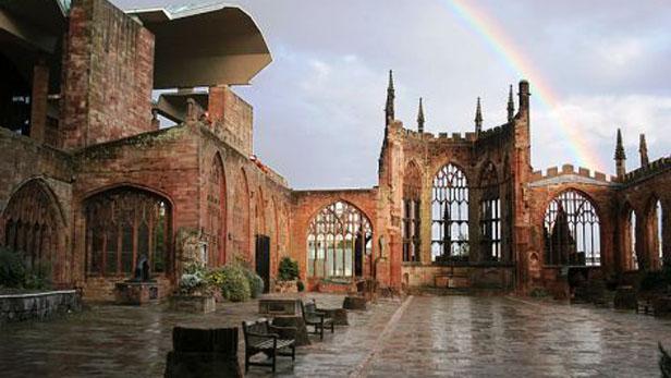 Trosky původní katedrály