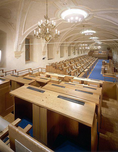Zasedací sál Senátu