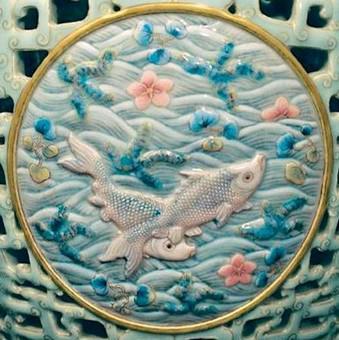 Detail motivu ryb