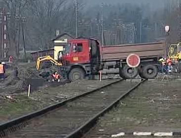 Rekonstrukce trati