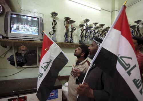 Iráčané sledují vyhlášení volebních výsledků