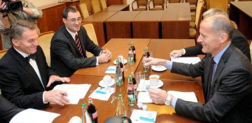 Jednání ODS a TOP 09 o koalici v Praze