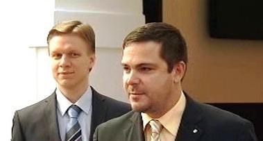 Tomáš Hudeček a Karel Březina
