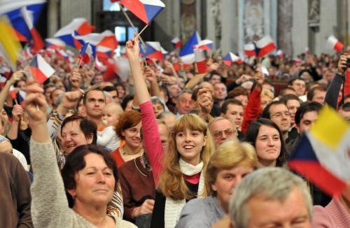 Čeští poutníci ve Vatikánu