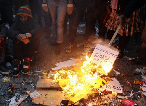 Protesty britských studentů