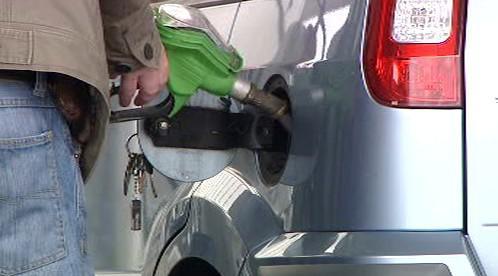 Tankování benzinu