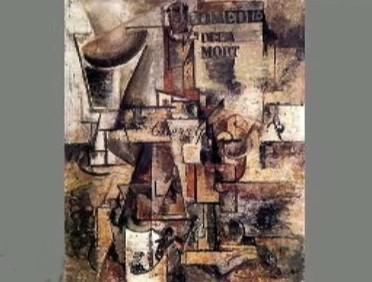 Emil Filla / Zátiší s lahví Cherry (1914)