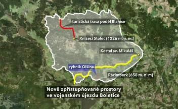 Vojenský prostor Boletice