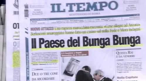 Berlusconiho skandály na stránkách italského tisku