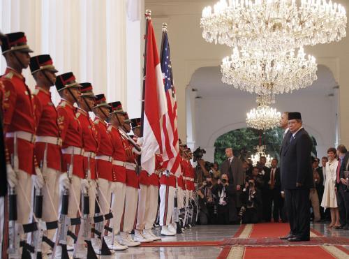 Barack Obama v Indonésii