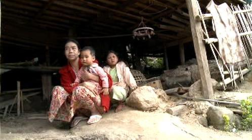 Nuzné životní podmínky barmských upchlíků v Thajsku