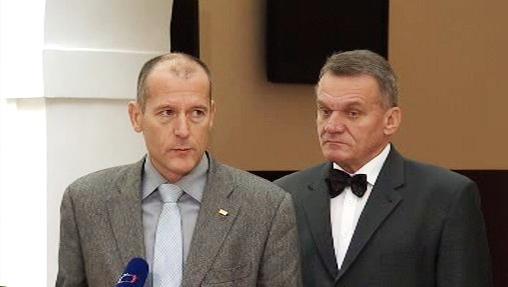 Zdeněk Tůma a Bohuslav Svoboda