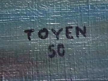 Signatura malířky Toyen