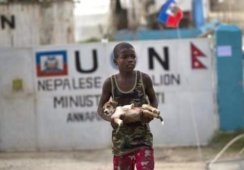 Epidemie cholery na Haiti
