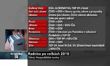 Koalice po volbách 2010