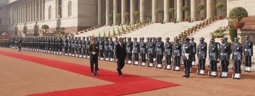 Obama na návštěvě Indie