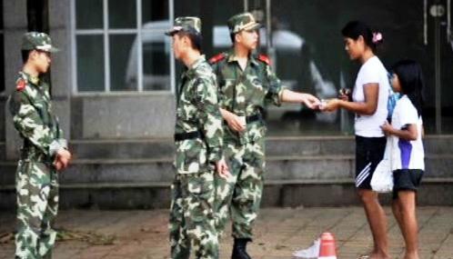 Barmští vojáci