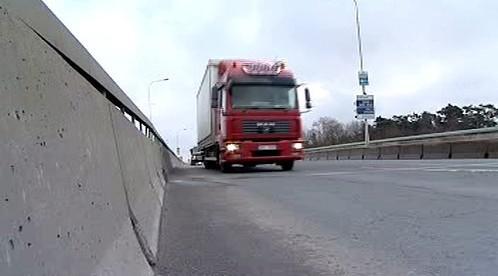 Projíždějící kamion