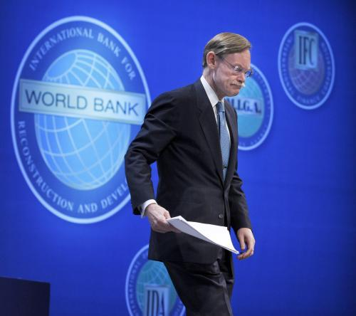 Robert B. Zoellick na summitu MMF a Světové Banky