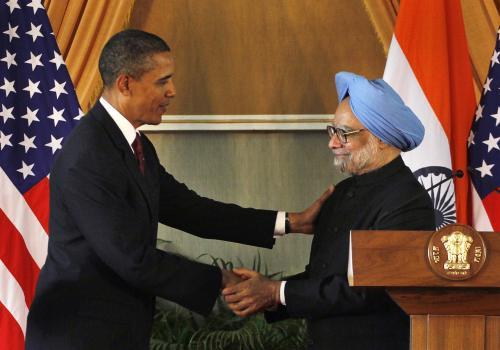Barack Obama a Manmohan Singh