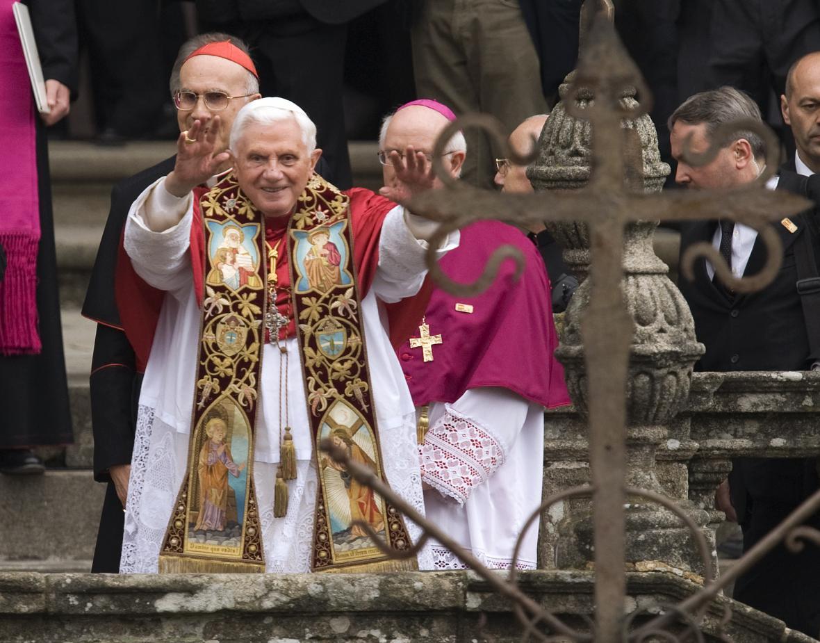 Papež Benedikt XVI. na návštěvě Španělska