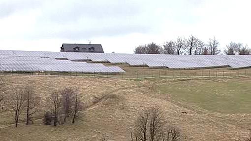 Solární elektrárna v Moldavě