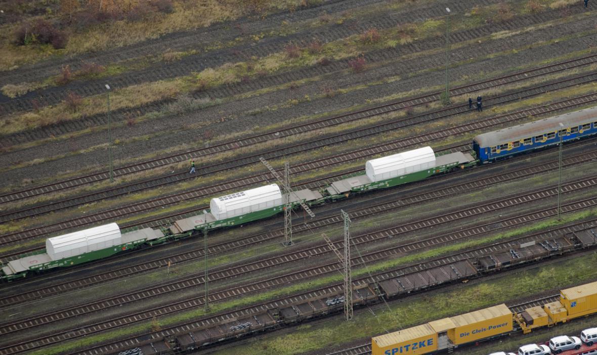 Jaderný transport se blíží do Gorlebenu