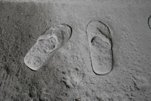 Merapi zasypala své okolí vrstvou žhavého popela