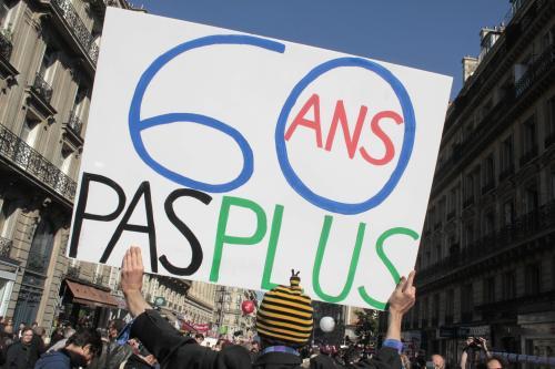 Francouzi protestují proti reformě penzí