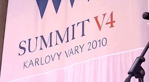 Summit V4 v Karlových Varech