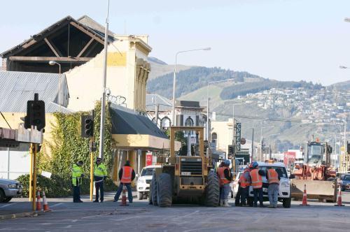 Odklízení škod po zemětřesení