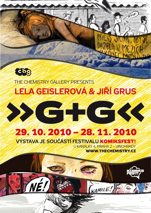 G + G / Jiří Grus a Lela Geislerová