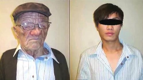 Mladík se na lince z Honkongu do Vancouveru převlékl za starce