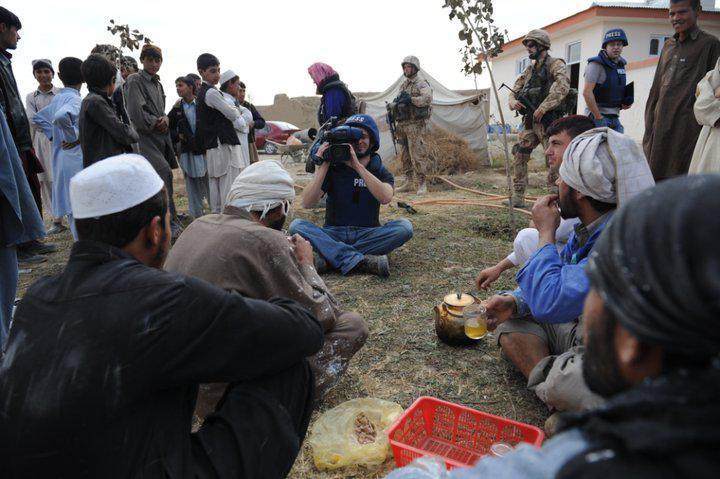 OVM Speciál  natáčí v Afghánistánu