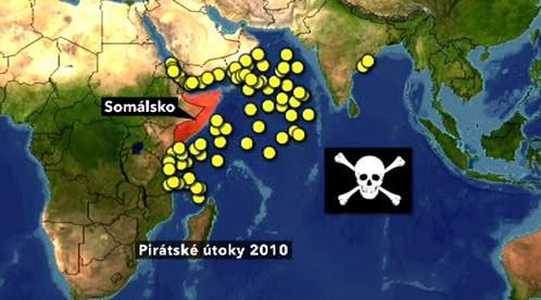 Útoky pirátů
