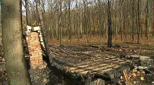 Vyhořelá chatka