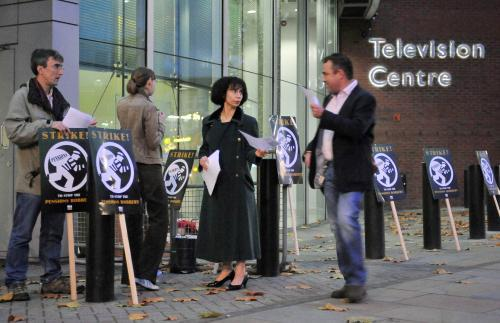 Stávka BBC