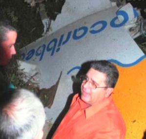 Havárie kubánského letadla společnosti Aero Caribbean