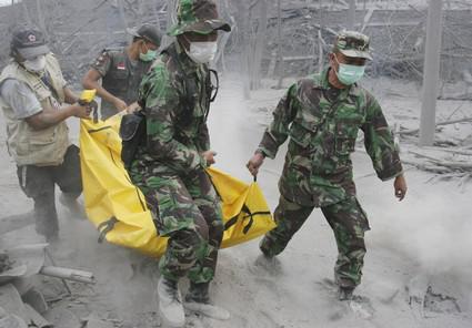 Sopka Merapi opět udeřila