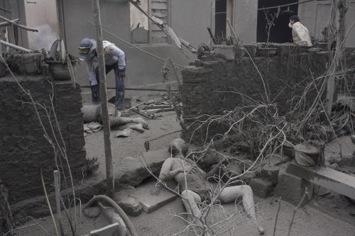 Oběti sopky Merapi
