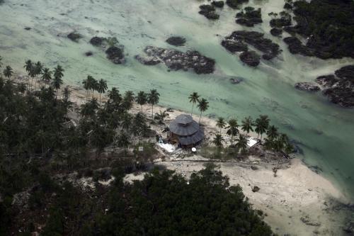 Tsunami na indonéském ostrově Pagai