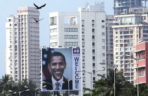 Indie vítá Baracka Obamu