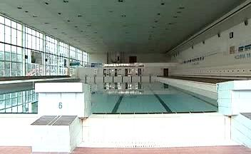 Bazén plaveckého areálu