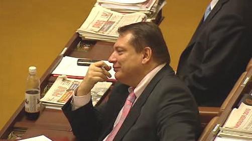 Jiří Paroubek ve sněmovně