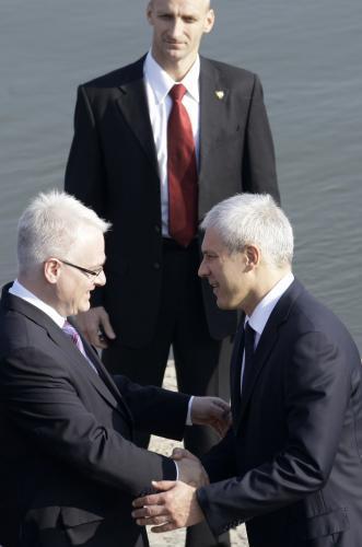 Ivo Josipović a Boris Tadić
