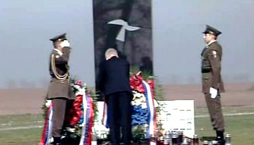Boris Tadić ve Vukovaru