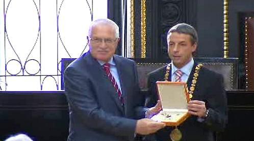 Václav Klaus s Pavlem Bémem