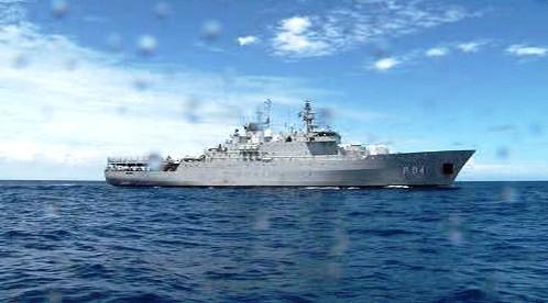 Loď protipirátské mise